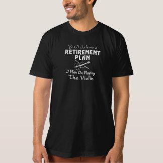 Plan on playing the Violin Tee Shirt