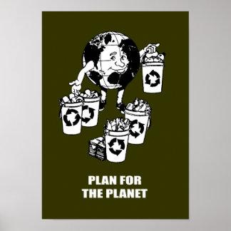 PLAN PARA EL PLANETA POSTER