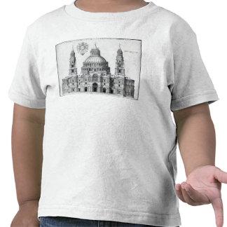 Plan para San Pedro, Roma, 1539 Camisetas