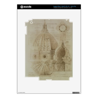 Plan, Section and Elevation of Florence Cathedral, Decal For iPad 3