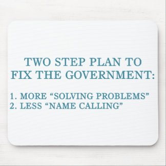 Plan to fix the government mouse pad