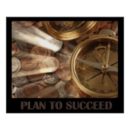 Plan to succeed poster