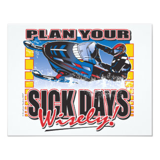 """Plan-Your-Days-Wisely-[Conv 4.25"""" X 5.5"""" Invitation Card"""