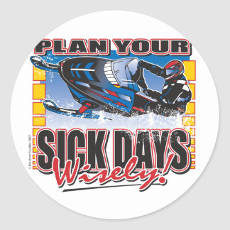 Plan-Your-Days-Wisely-[Conv Classic Round Sticker