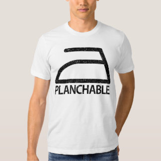 Planchable Playera