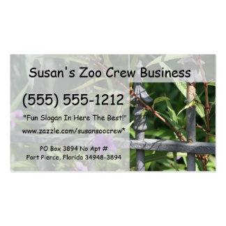 Planche la cerca hojas del verde flor púrpura tarjetas personales