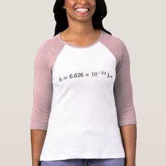 Planck's Constant Shirts