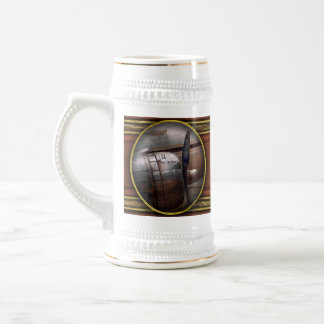 Plane - A little rough around the edges Beer Stein