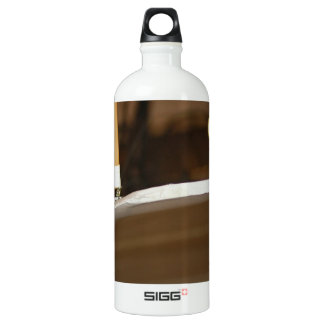 Plane Aluminum Water Bottle