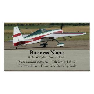 Plane Business Card