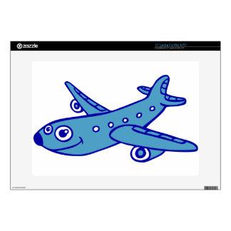 plane cartoon laptop skin