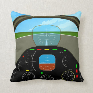 Plane Cockpit Pillow