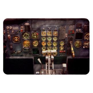 Plane - Cockpit - The controls are set Flexible Magnet