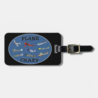 PLANE CRAZY BAG TAG