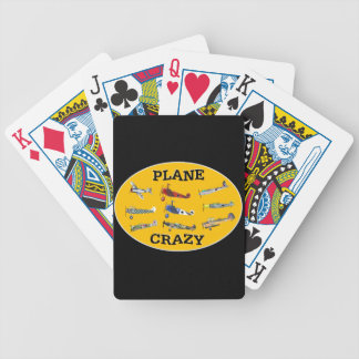 PLANE CRAZY BICYCLE PLAYING CARDS