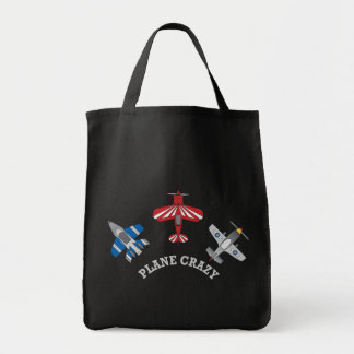 Plane Crazy Tote Bag