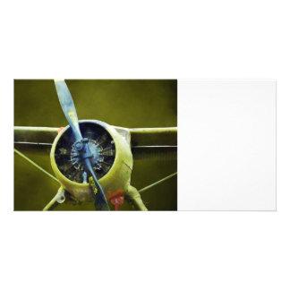Plane - DeHavilland U-6A Beaver Photo Card