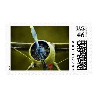 Plane - DeHavilland U-6A Beaver Postage Stamp
