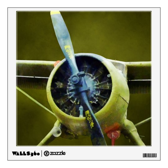 Plane - DeHavilland U-6A Beaver Wall Sticker