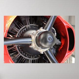 Plane Engine 2 Poster