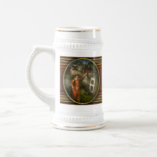 Plane - First One-Stop Flight Across the US - 1921 Beer Stein
