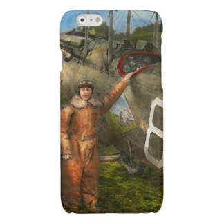 Plane - First One-Stop Flight Across the US - 1921 Glossy iPhone 6 Case