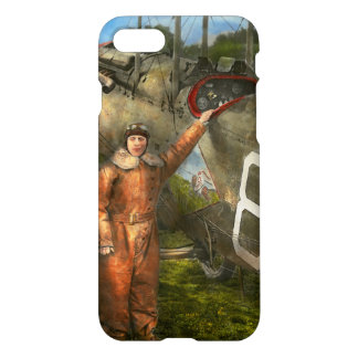 Plane - First One-Stop Flight Across the US - 1921 iPhone 7 Case