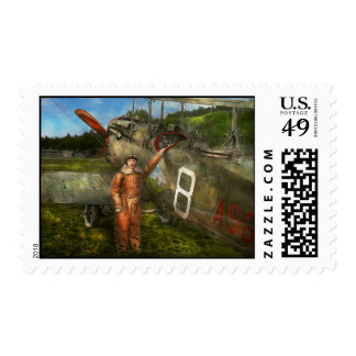 Plane - First One-Stop Flight Across the US - 1921 Postage