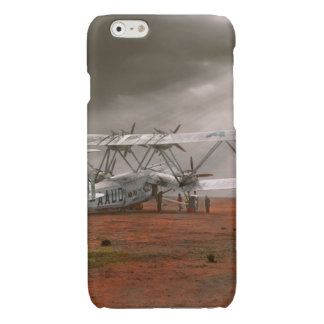Plane - Hanno ready to take off 1931 Glossy iPhone 6 Case