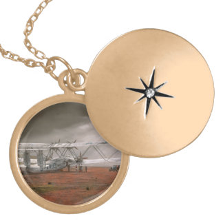 Plane - Hanno ready to take off 1931 Locket Necklace