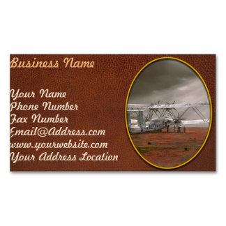 Plane - Hanno ready to take off 1931 Magnetic Business Card