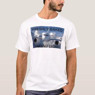 plane_high_above_the_clouds_1280x800, TAKEN FLI... T-Shirt