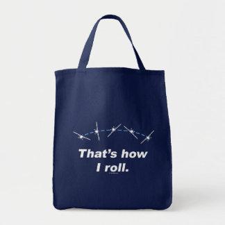 Plane How I Roll Tote Bag