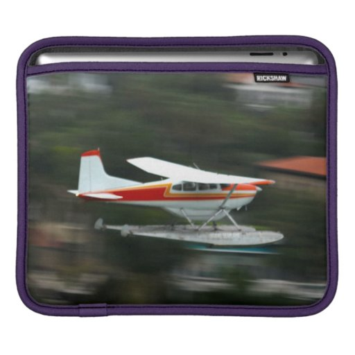 Plane in Motion photo iPad Sleeve