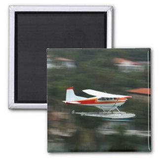 Plane in Motion photo Fridge Magnet