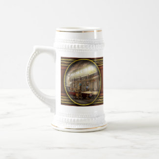 Plane - In the Airplane Factory 1918 Beer Stein