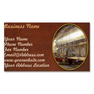Plane - In the Airplane Factory 1918 Business Card Magnet
