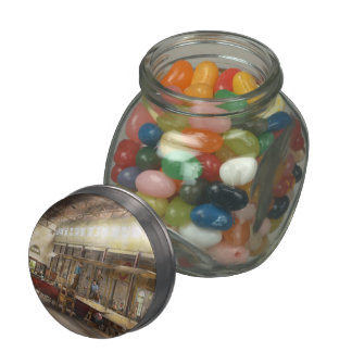 Plane - In the Airplane Factory 1918 Jelly Belly Candy Jar
