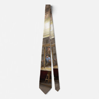 Plane - In the Airplane Factory 1918 Tie