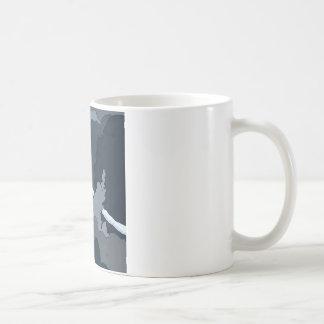 plane in the clouds coffee mug