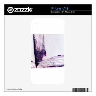 Plane Incomplete Skin For iPhone 4