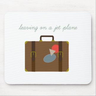 Plane Luggage Mouse Pad