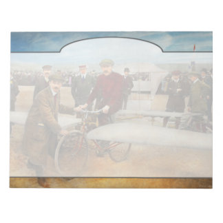 Plane - Odd - Easy as riding a bike 1912 Notepad