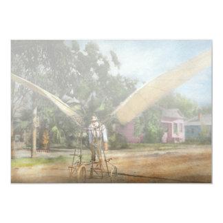 Plane - Odd - The early bird 1910 Card