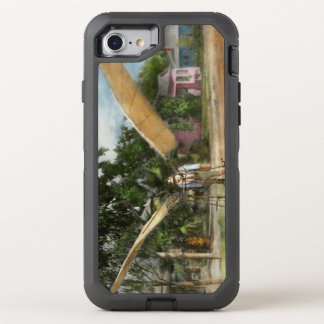Plane - Odd - The early bird 1910 OtterBox Defender iPhone 8/7 Case