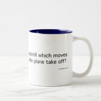 Plane on a Treadmill Mug