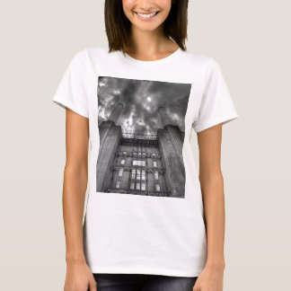 Plane over Battersea Power Station, London T-Shirt
