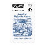Plane over Bellefonte - Blue Stamp