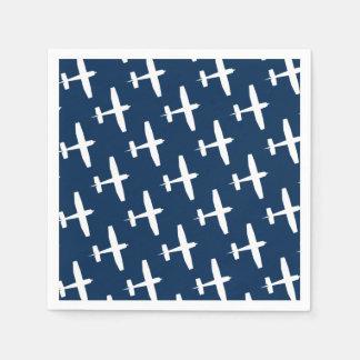 Plane pattern ı paper napkins