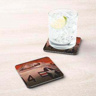 Plane - Pilot - Airforce - Go get em Tiger Beverage Coasters
